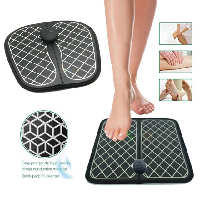 Electric EMS Foot Massager ABS Physiotherapy Revitalizing Pedicure Tens Foot Vibrator Wireless Feet Muscle Stimulator Unisex-in Massage & Relaxation from Beauty & Health on Aliexpress.com | Al