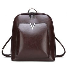 2018 New Women Vintage Backpack Brand Luxurious Leather Women's Shoulder Bag Large Capacity School Bag For Girl Leisure Backpac