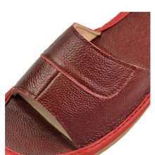 STONE VILLAGE Genuine Leather Shoes Home Slippers High Quality Cow Leather  Indoor Shoes Men And Women Shoes Summer Size 35-45